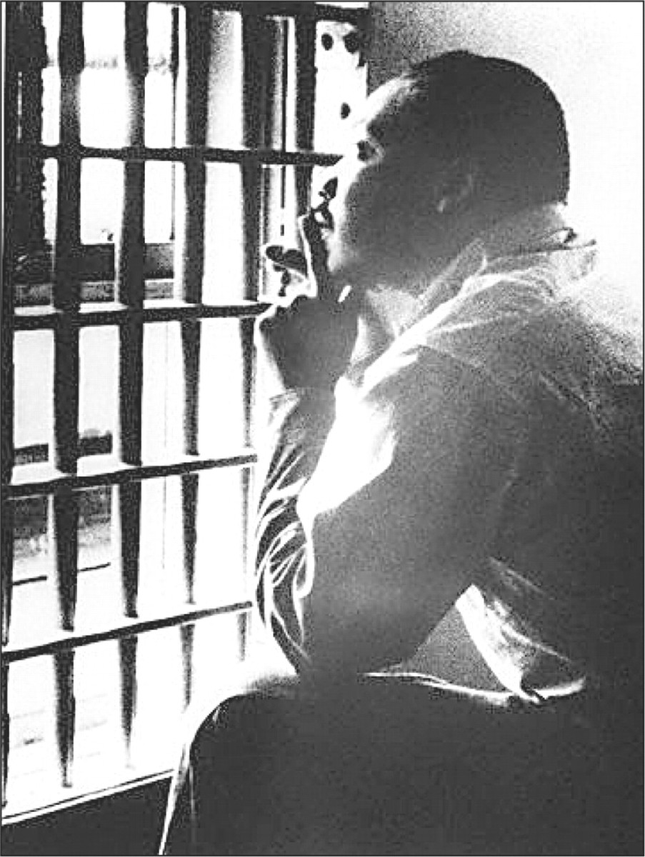 letters from birmingham jail april 16 resurrection sunday lenten lamentations 12276 | martin luther king letter from birmingham jail mlk in jail